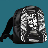 Arctic Monkeys Art for Backpack / Custom Bag / School Bag / Children Bag / Custom School Bag ***