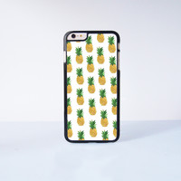Pineapple Collection Plastic Case Cover for Apple iPhone 6 Plus 4 4s 5 5s 5c 6