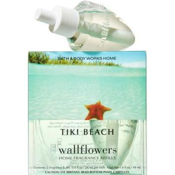 Bath & Body Works TIKI BEACH Aromatherapy Wallflowers 2-Pack Home Fragrance Refills