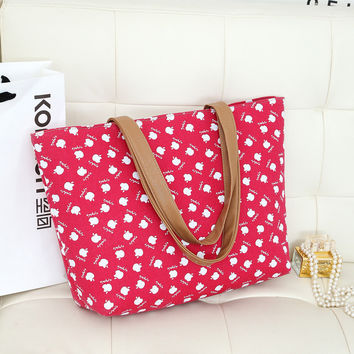 One Shoulder Casual Pattern Bags [6581837703]