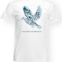 Coldplay T Shirt Band Tee Chris Martin Magic Song T-Shirt