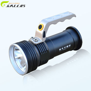 Portable Multi-function  Outdoor Camping Flashlight Lantern Hiking Tent LED Light Campsite Lamp Emergency with Handle/18650