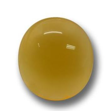 6.08 ct  Oval Cabochon Yellow Agate 13.6 x 12.2 mm