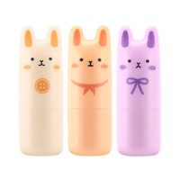 [TONYMOLY]  Pocket Bunny Perfume Bar 3 Fragrance 9g / Portable size perfume