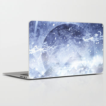 Even mountains get cold Laptop & iPad Skin by HappyMelvin