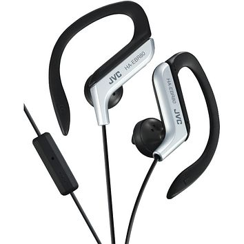 Jvc In-ear Sports Headphones With Microphone & Remote (silver)