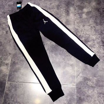 LMFUP0 JORDAN Woman Men Fashion Pants Trousers Sweatpants