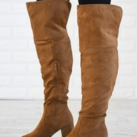 Knee High Boots ~ Camel