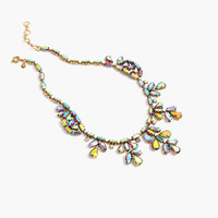 J.Crew Womens Crystal Ivy Necklace