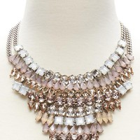Mosaic Pink Necklace