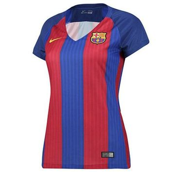 DCCK8BW 2016-2017 Barcelona Home Nike Ladies Shirt