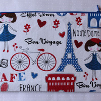 Retro Zipper Pouch a day in France