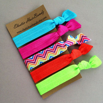 The Brandy Hair Tie Ponytail Holder Collection
