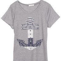 Anchor With Studs Tee