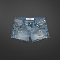 A&F Mid Rise Shorts
