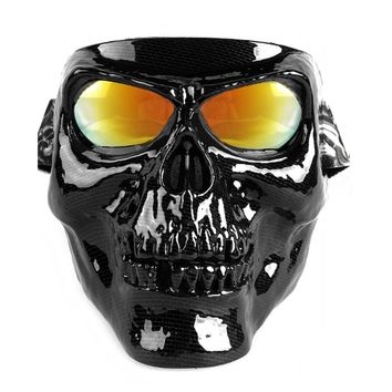 Unisex Skull Riding Mask with Sunglasses (6 Options)