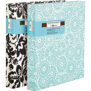 "Martha Stewart Home Office? with Avery? 1"" Everyday Patterned Heavy Paper Binder"