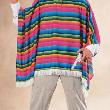 Mexican Serape Adult Halloween Effects
