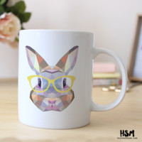 Hipster Easter Bunny