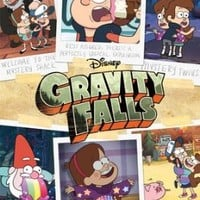 (22x34) Gravity Falls - Grid Television Poster