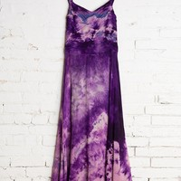 Vintage Purple Crinkle Dress - Urban Outfitters