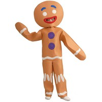 Shrek Gingerbread Man Costume - Kids (Brown)