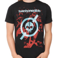 Twenty One Pilots Skull Crowd Hands T-Shirt