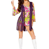 Groovy Hippie Women's Costume