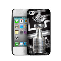 Iphone 44S Hard Cover Case - Los Angeles Kings 2012 Stanley Cup Champs (If Win)