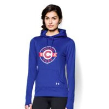 Under Armour Women's Chicago Cubs UA French Terry Hoodie