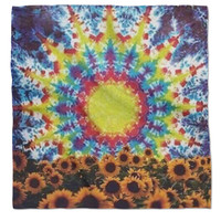 Tye Dye Sunflower