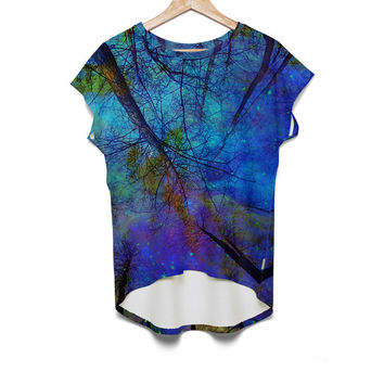haroulita Woman Top colorful forest - JVGBD®