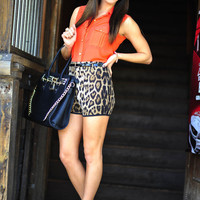Back On The Prowl Shorts: Leopard | Hope's