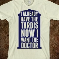 Now I Want the Doctor