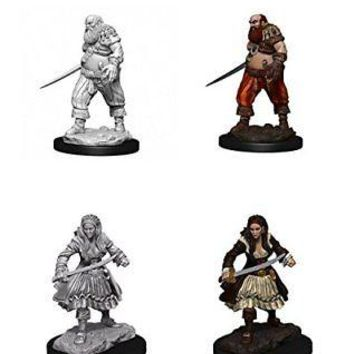 Roleplaying Game Unpainted Miniatures: Pirates