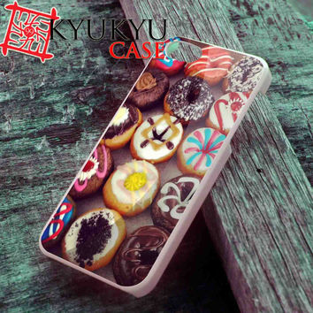 Various Donuts Cute - iPhone 4/4S, iPhone 5/5S, iPhone 5C Case and Samsung Galaxy S2 i9100, S3 i9300, S4 i9500 Case