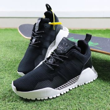 Best Online Sale Adidas AF 1.4 Primeknit Military Function Gogging Shoes Low Black White Sport Shoes Sneaker BY9395