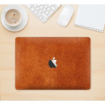 "The Deep Orange Texture Skin Kit for the 12"" Apple MacBook"