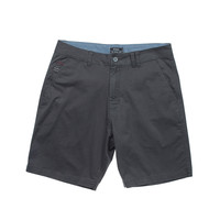 Eidon Wandered Rock Bottom Shorts Charcoal