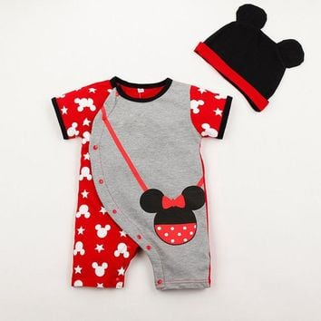 Mickey Mouse Ears Baby Jumper, Infant Clothes