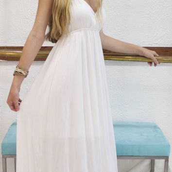 Goddess in Greece dress
