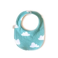 Baby Bib Tiffany Clouds