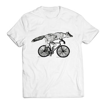 Fox Rider Animal Clothing T shirt Men