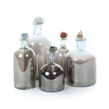 Mineral Cluster Decanter