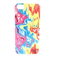 Trippy Multicolor Color Warped Phone Case
