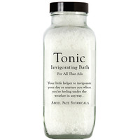 Tonic - Invigorating Bath Salts For All That Ails with Peppermint and Eucalyptus - Angel Face Botanicals Web Store