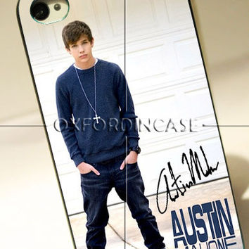 Austin Mahone Signature - for iPhone 4/4S case iPhone 5 case hard case hard cover