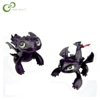 1 pc Dragon Master 2 How To Train Your Dragon Action Figures Night Fury Toothless figurines kids toys toothless dragon toys WYQ