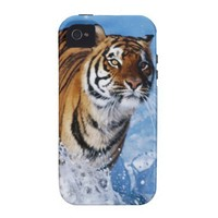 Tiger HD Resolution Pattern iPhone 4/4S Cases from Zazzle.com