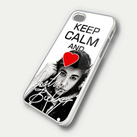 Keep Calm And Love JB Justin Bieber iPhone 5 Case by casecrib